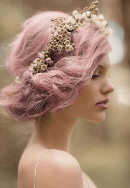 Pastel hair pelo