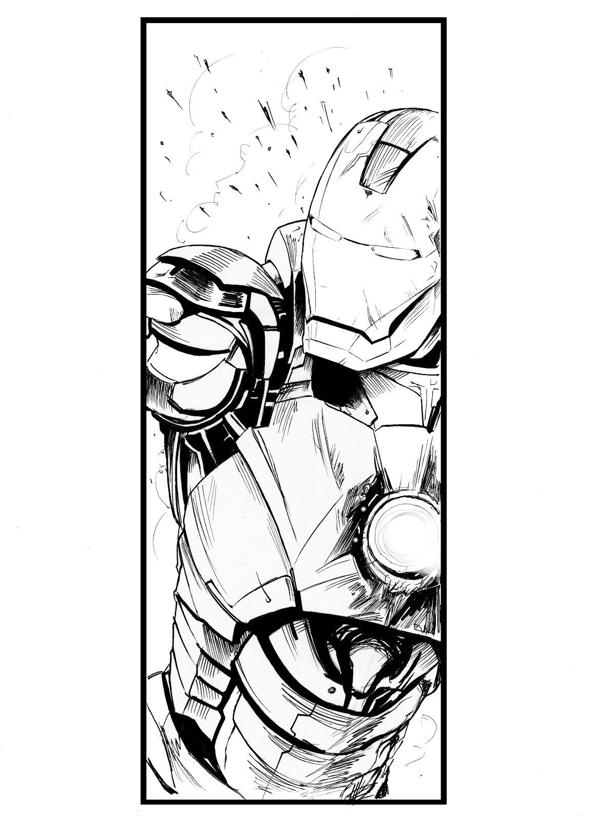 Matt Haworth Waste Of Paint Iron Man