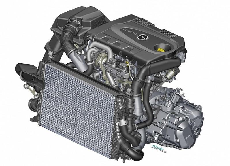 2013 2014 New Opel Zafira BiTurbo Diesel Engine Details