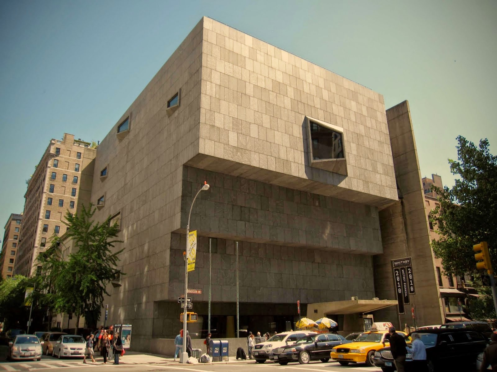 WHITNEY MUSEUM ON GREAT SPACES