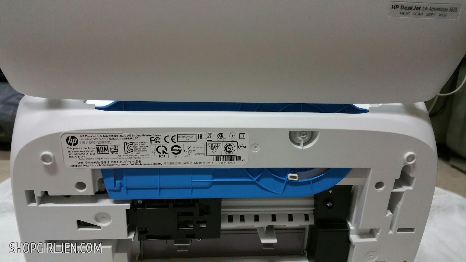 hp deskjet ink advantage 3630 all-in-one printer series download