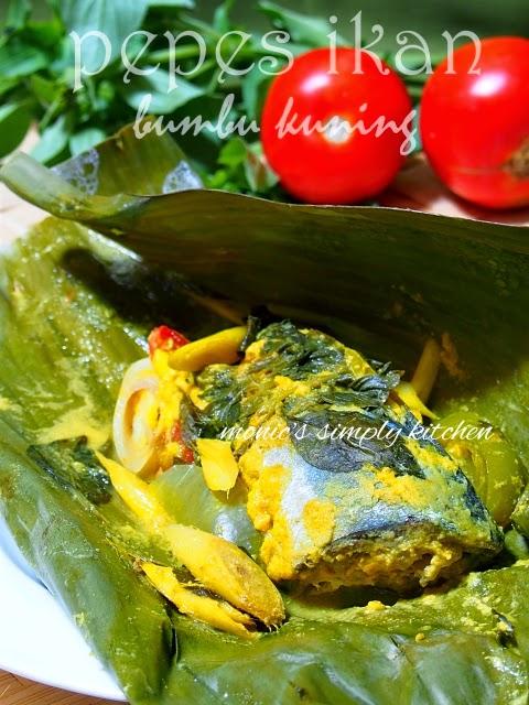pepes ikan bumbu kuning