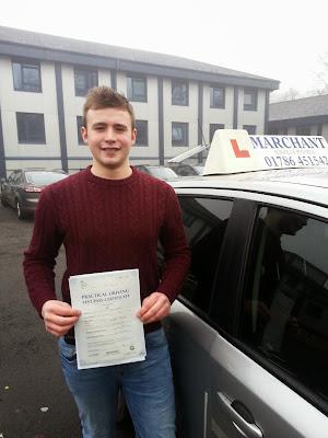 Callum Hayward Driving Test Pass