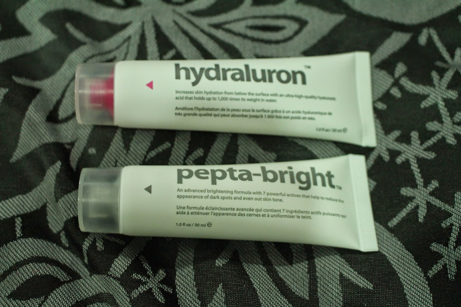 Hydraluron and Pepta-bright by Indeed Laboratories