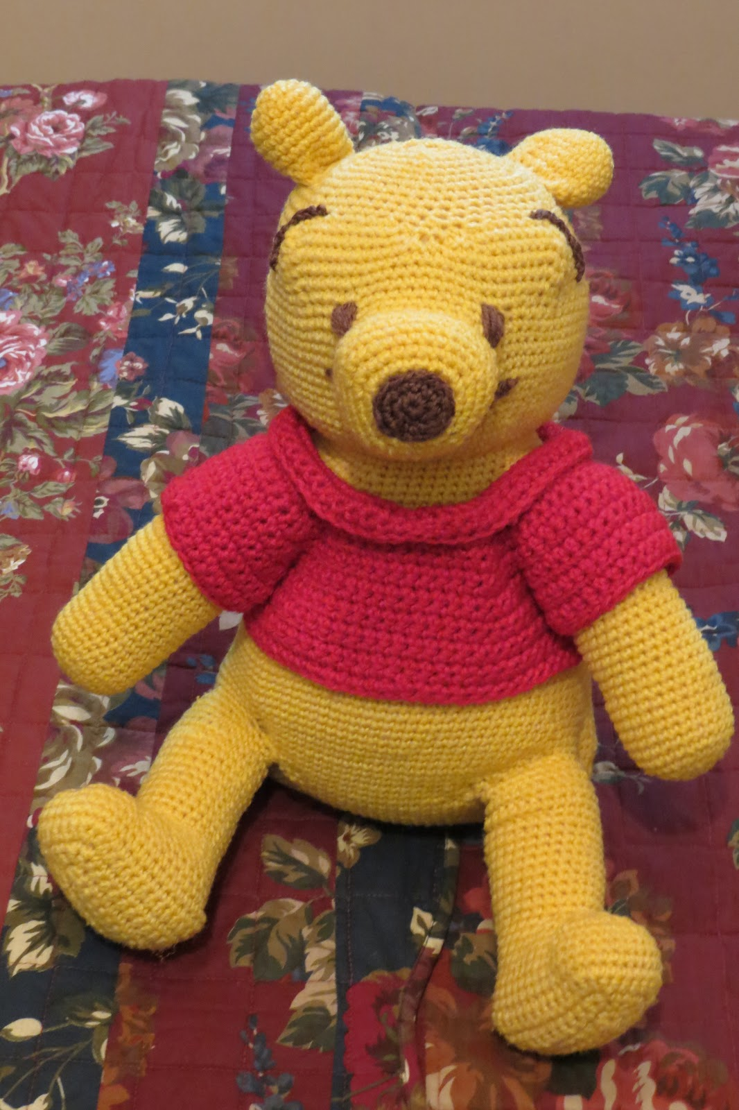 Amigurumi Winnie The Pooh : Crochet Amigurumi Winnie The Pooh manal311