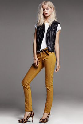 H&M skinny jeans mujer