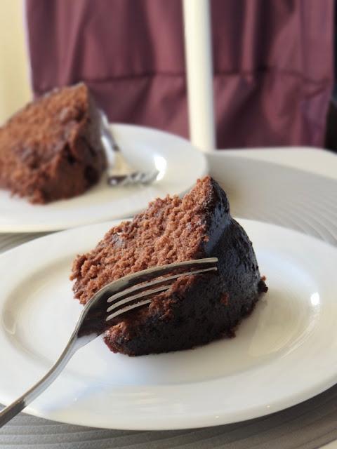 Kahlua Chocolate Bundt Cake From Scratch