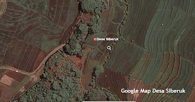 Desa Siberuk dari Satelite