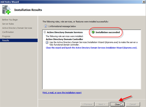 It experts install active directory domain services windows server 2008 - Installer console active directory windows 7 ...