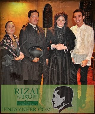 Jose Rizal 150 Years of Heroism, National Hero, Josephine Bracken, Teodora Alonso, Fort Santiago, Intramuros