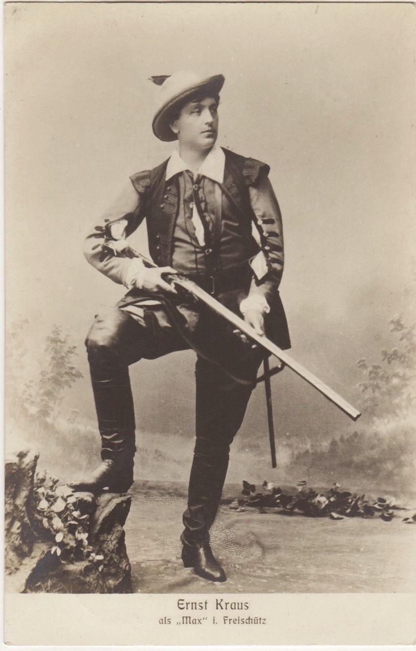GREAT GERMAN TENOR ERNST KRAUS (1863 - 1941) CD