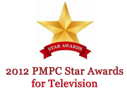 2012 PMPC Star Awards List of Nominees for TV