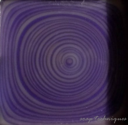 "in the mold - cold-process soap ""purple agate"""