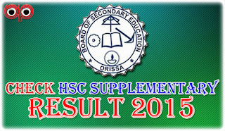 BSE Odisha - Check Online HSC Supplementary Exam 2015 Result Now!