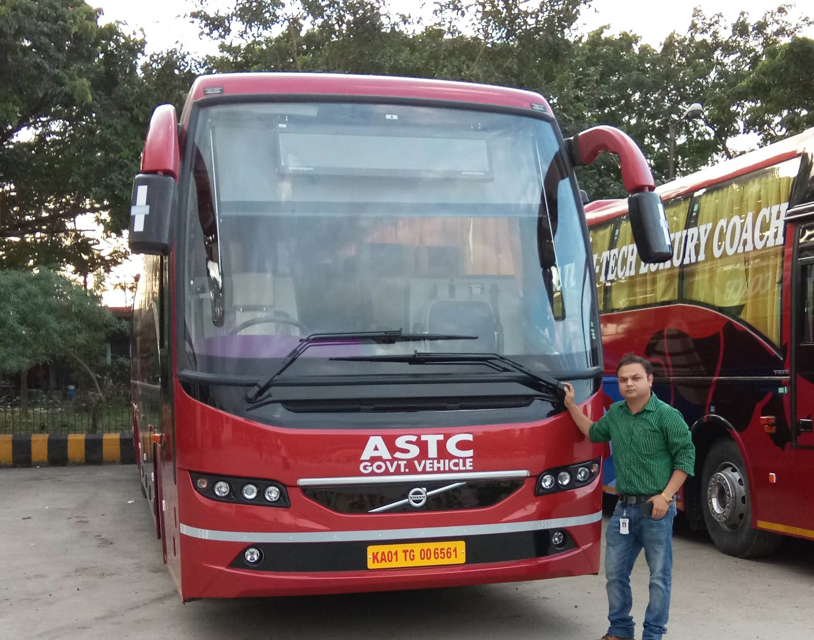 ASTC VOLVO B11R I-SHIFT
