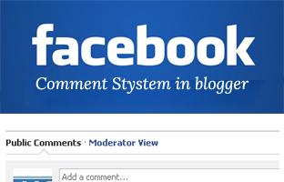 Cara Pasang Kotak Komentar Facebook di Blog Blogspot