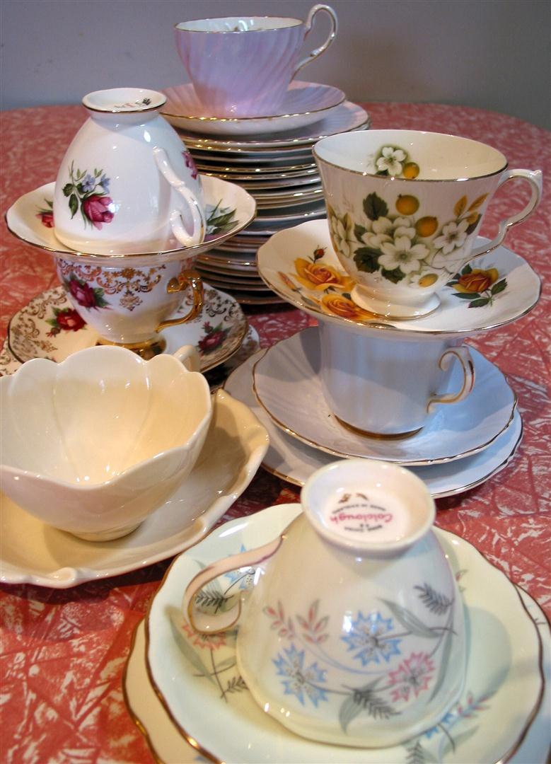Things that make my heart sing: Tea cups and Trade fairs