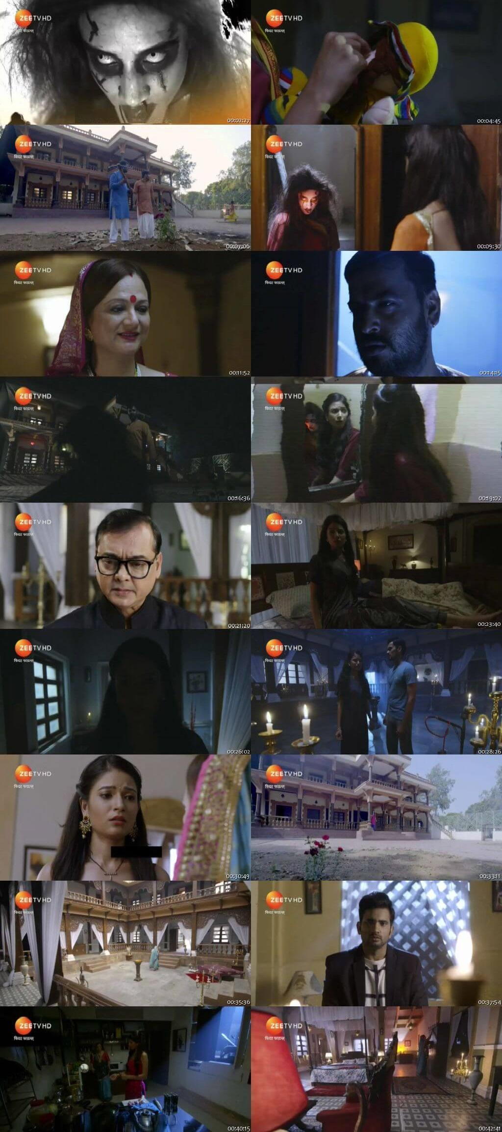 Screenshots Of Hindi Show Fear Files 2018 Episode 136 300MB 480P HD