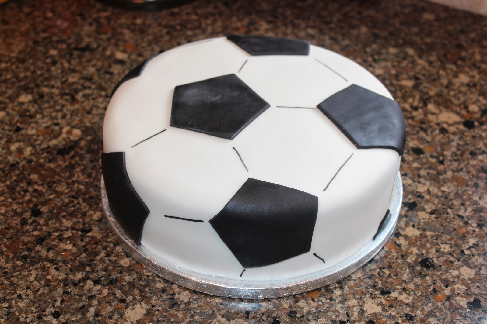 Icing on My Cake Soccer cake for Bryce