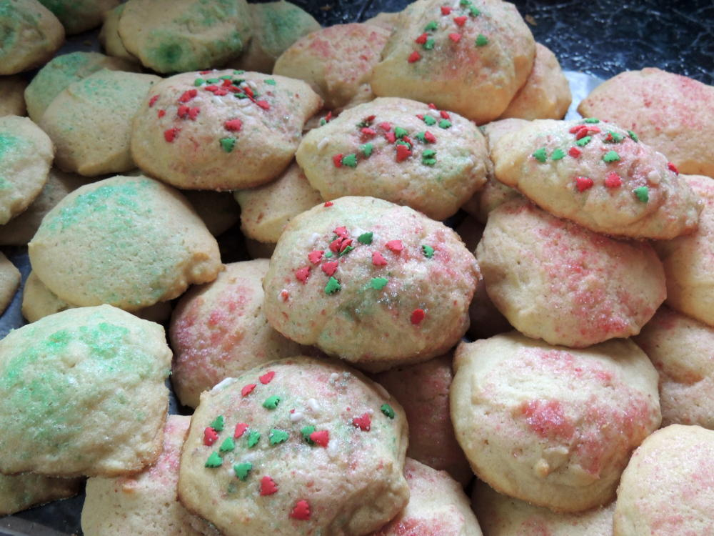 Old fashioned drop sugar cookies 50