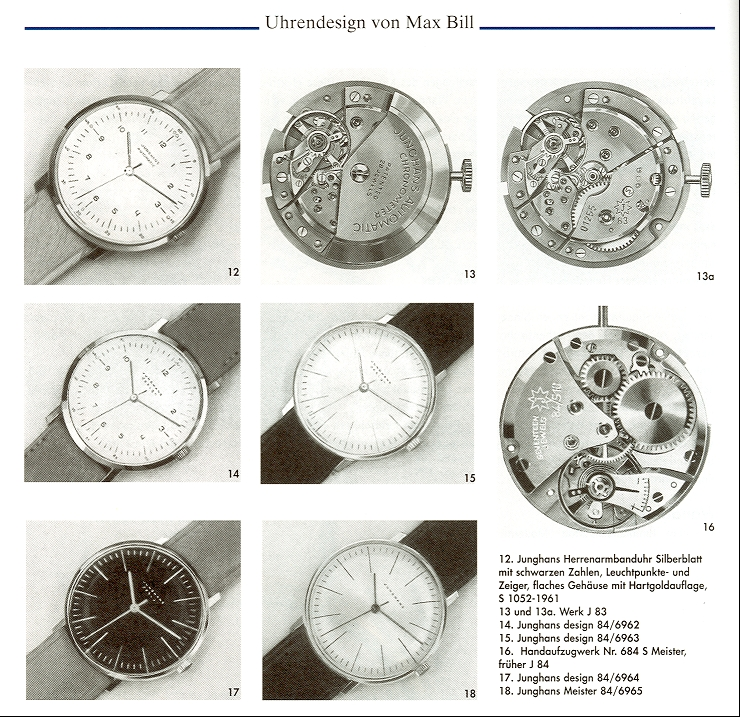 a short guide the original max bill junghans watch design from 1962 a short guide the. Black Bedroom Furniture Sets. Home Design Ideas
