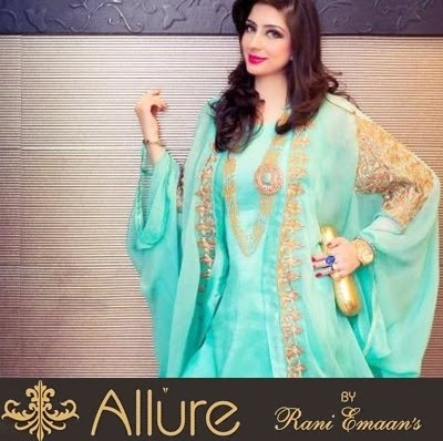 Winter Formal Wear Designs by Rani Emaan