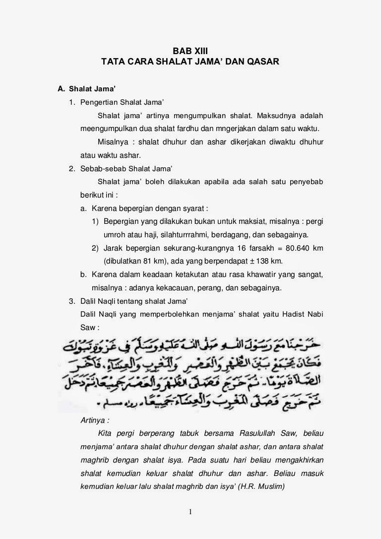 Shalat Qashar, jamak ta'zim dan jamak Ta'khir