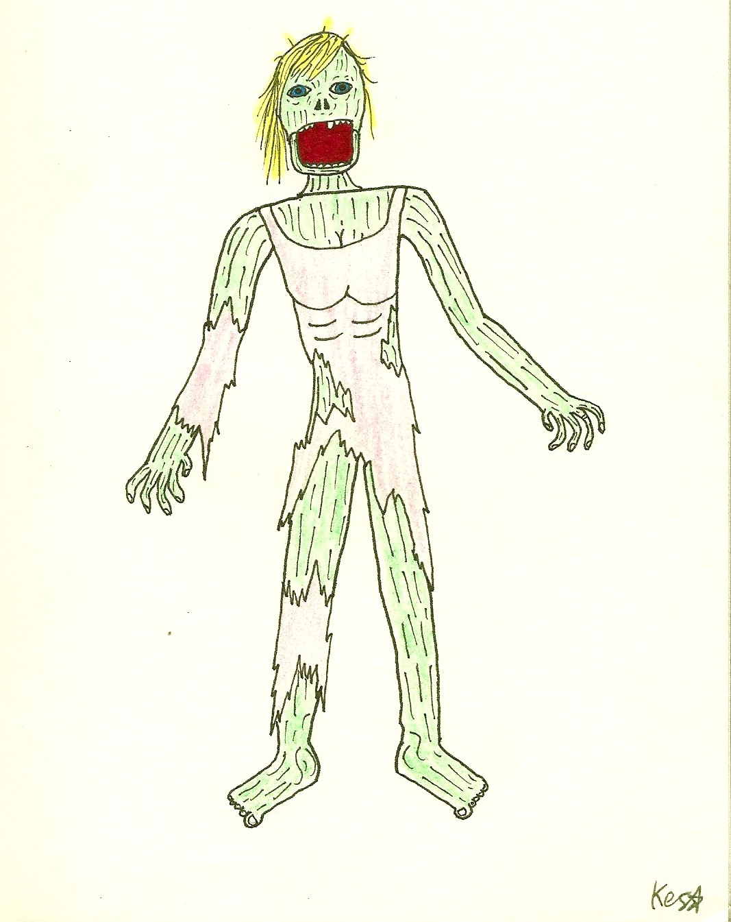 Character Design Zombie : Shoopsoldier stuff zombie character design female