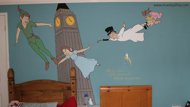 Peter Pan Wall Mural