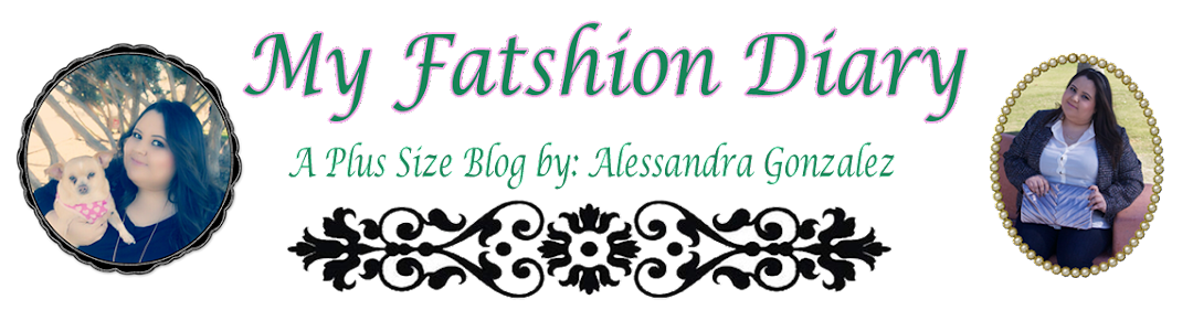 Fatshion Diary: A Plus Size Blog 
