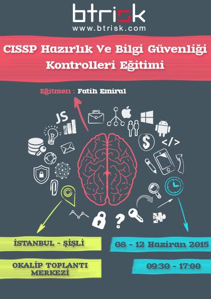 Bilgi Güvenliği Eğitimleri, CISSP,Fatih Emiral,Eğitim-Duyru,Btriskokulu