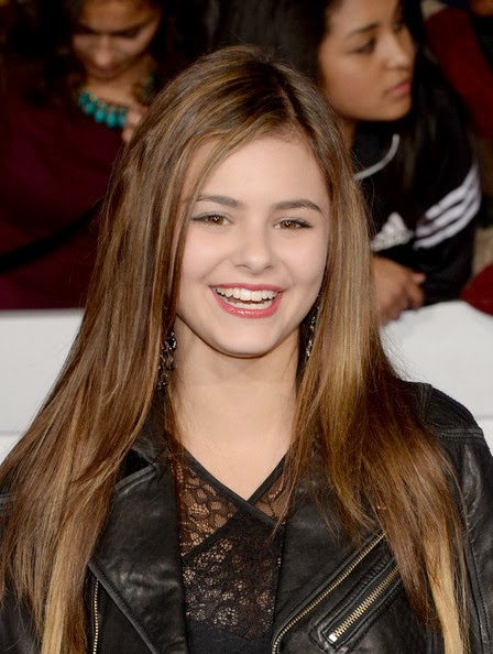 Jacquie Lee Layered Cut Hairstyle