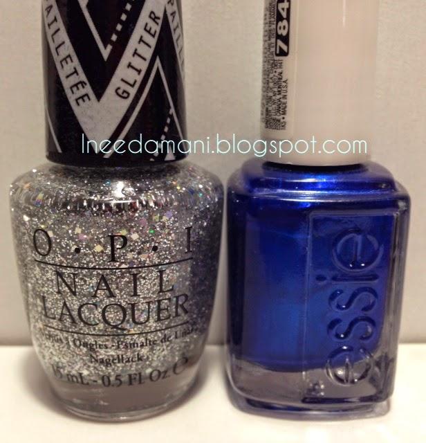 gwen stefani opi in true stefani fashion essie aruba blue