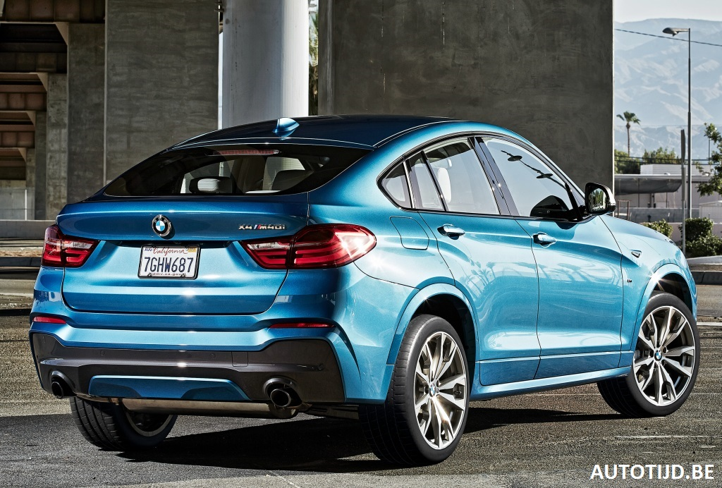 2017 bmw x4 m40i gets fresh gallery with 28 new pics carscoops. Black Bedroom Furniture Sets. Home Design Ideas