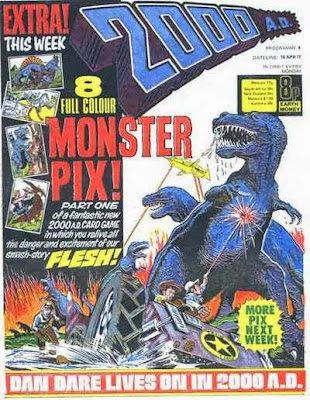 2000 AD #8, Flesh