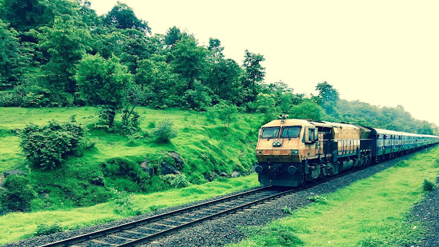 Konkan Railway  - muat travel during Indian Monsoon