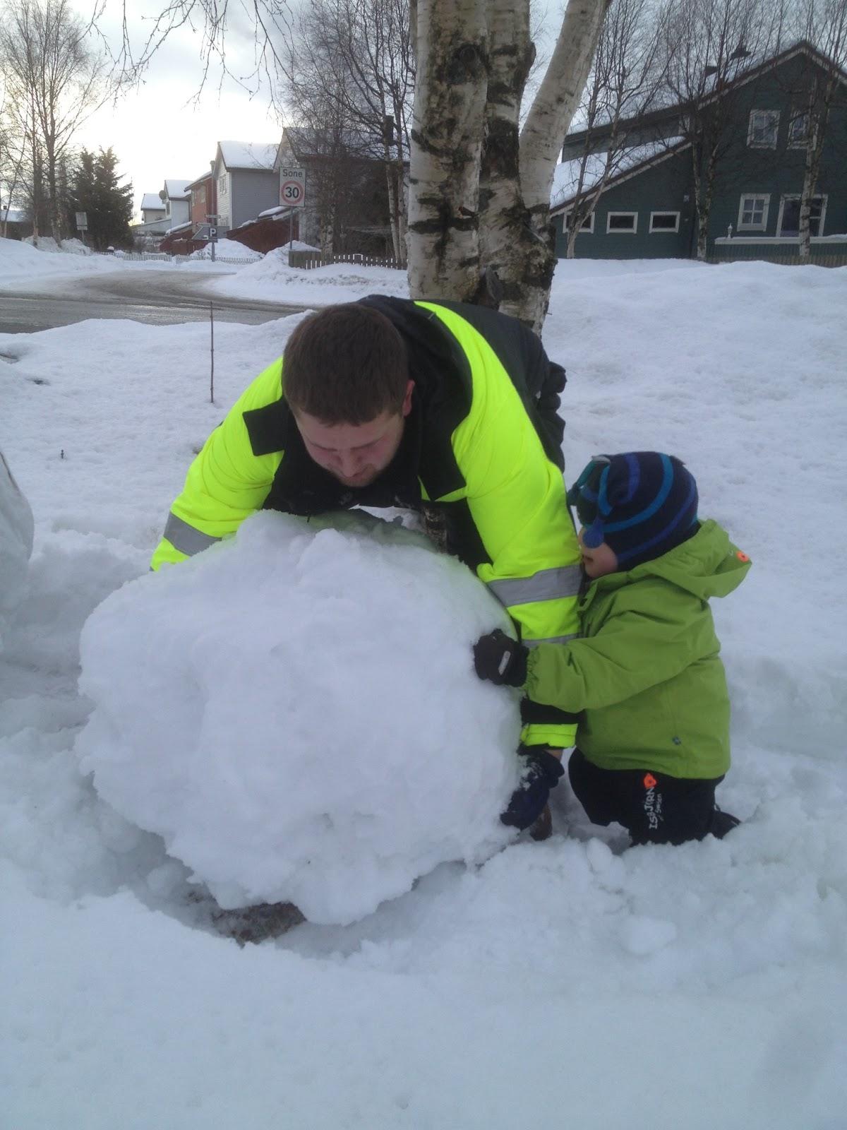 snømannen kalle tekst norsk