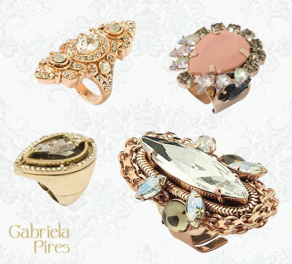 Dicas de presente para o Dia das Mães - semijoias de luxo - anéis Gabriela Pires