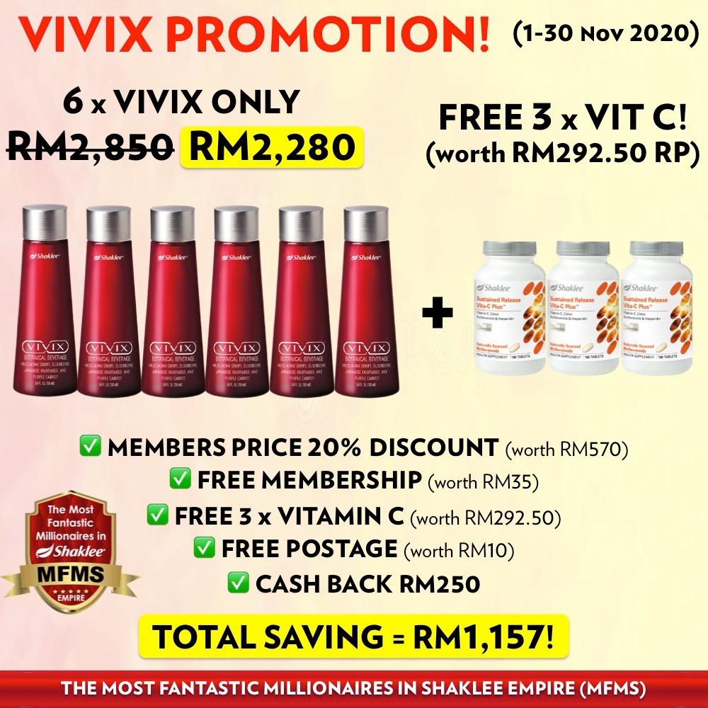 VIVIX PROMOTION NOV 2020