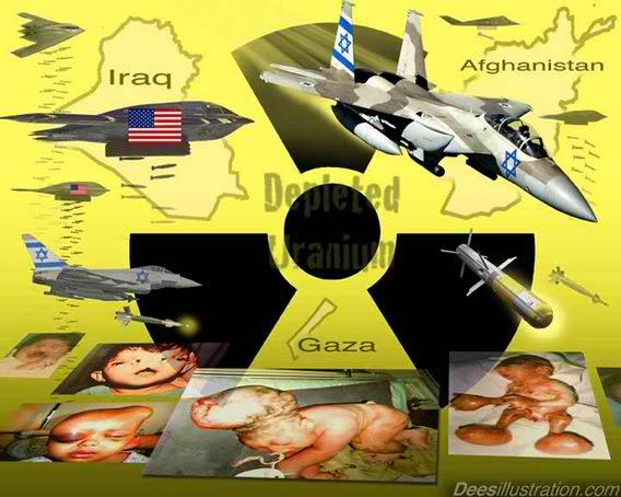 Depleted Uranium Turning Babies Into Monsters–terrible Picture