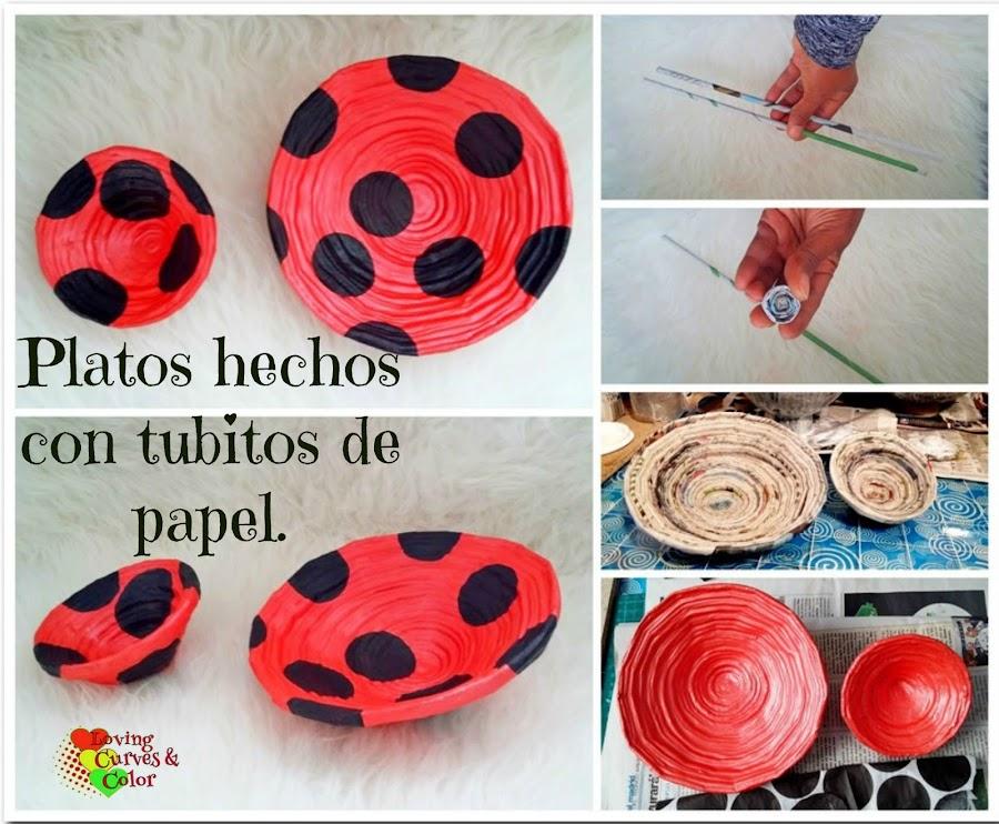 Hacer platos de papel - Como hacer cosas de papel paso a paso faciles ...