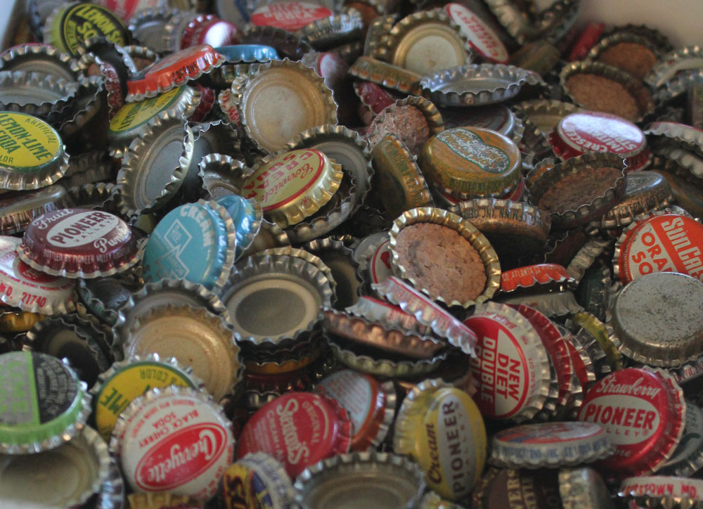 vintage bottle caps itsy bits and pieces