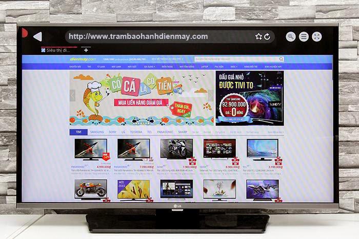 Hướng dẫn Cách dò kênh tivi LG LF630T