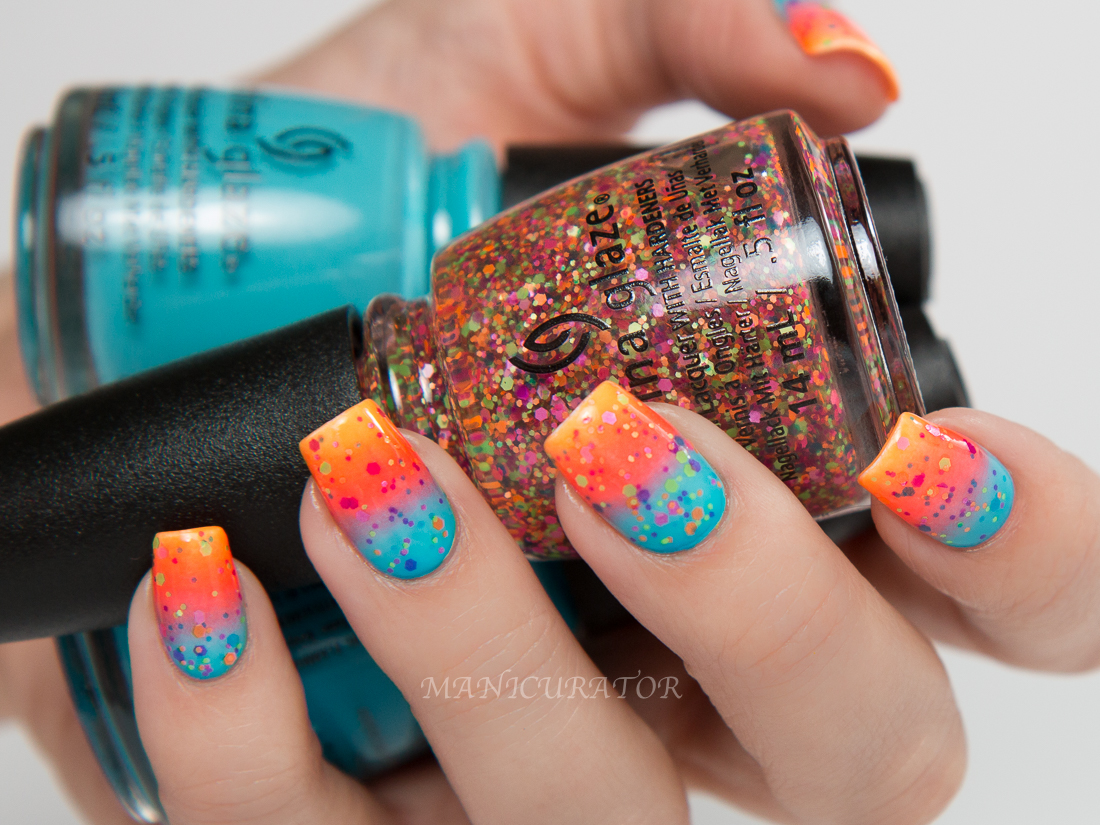 Manicurator China Glaze Electric Nights Summer 2015 Swatch Review