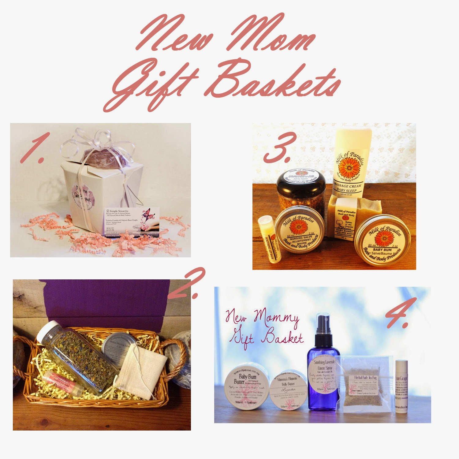 Mother And Baby Gift Hamper : Gorgeous gift baskets for the new mom and newborn