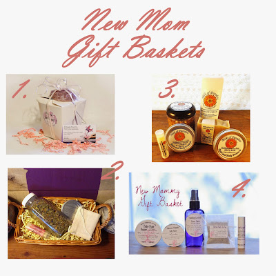 new mom gift baskets, all-natural baby products, all natural pregnancy products, all natural/organic new mother products
