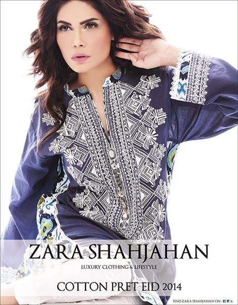Zara Shahjahan Luxury Eid Dress-2014