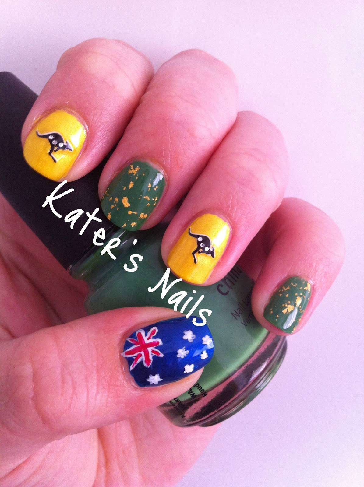 Katers nail blog australia day katers nail blog prinsesfo Gallery
