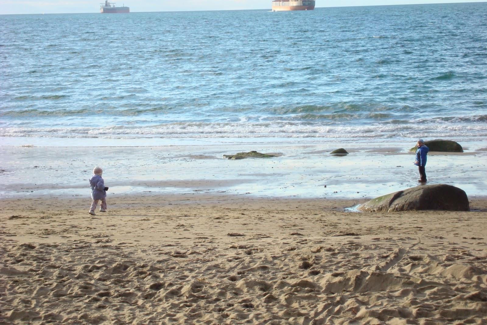Третий пляж в зимний период