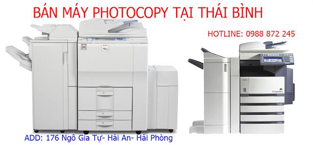 bán máy photocopy giá rẻ Thái Bình